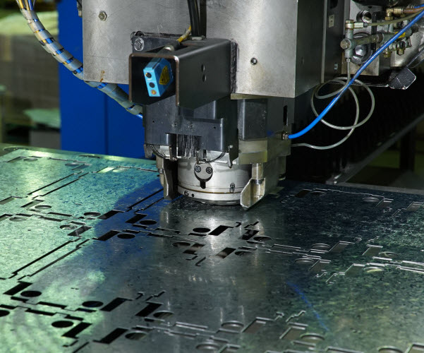 Precision Production - CNC Punching