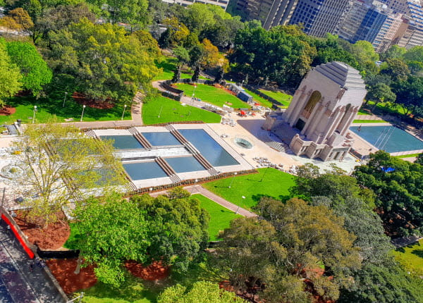 Anzac Memorial project overview