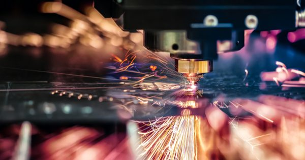 Laser cutting is a fast metal solution