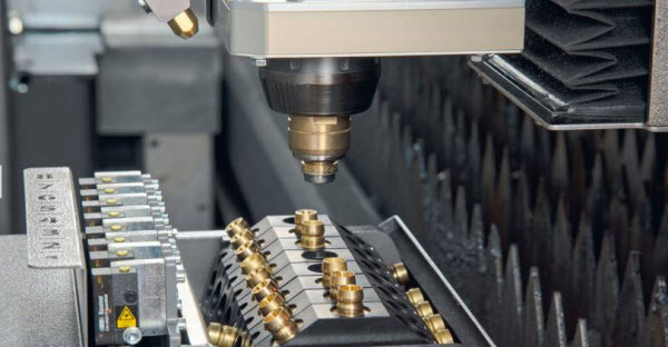 Efficient method for laser cutting