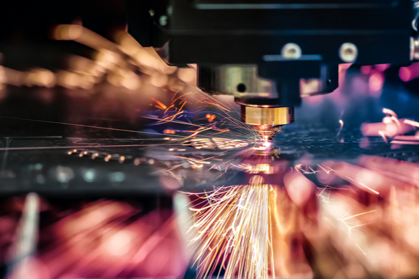 Laser cutting of metal, modern industrial technology