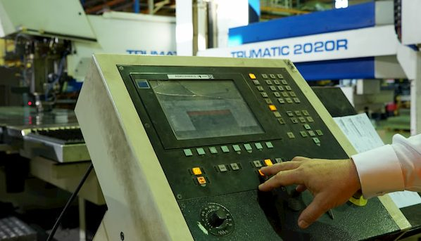 Skilled engineers and technicians control