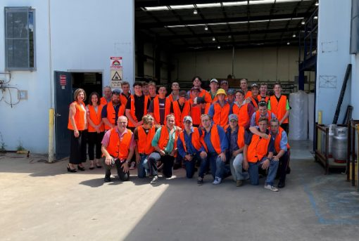 Sevaan Group hosts The King's School industrial arts students