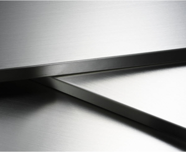 Stainless steel abstract